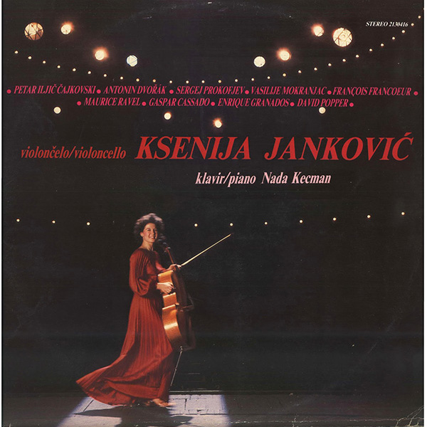 Xenia Jankovic – violoncello and Nada Kecman – piano